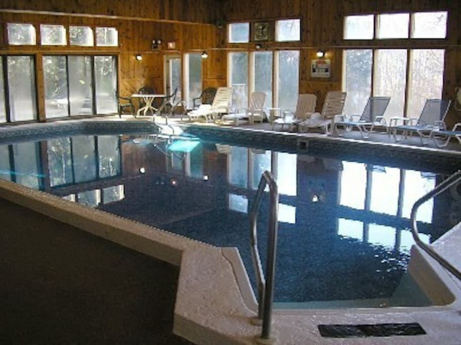 Pool located at the clubhouse of the Seasons, a short 4 minute walk