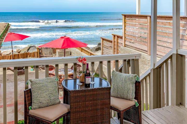 Charming Beachfront Rental P5161-2