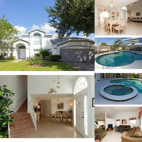 ★ Beautiful 2300 sqft. 4BR Villa 8 Min to Disney ★ - Kissimmee - Villa