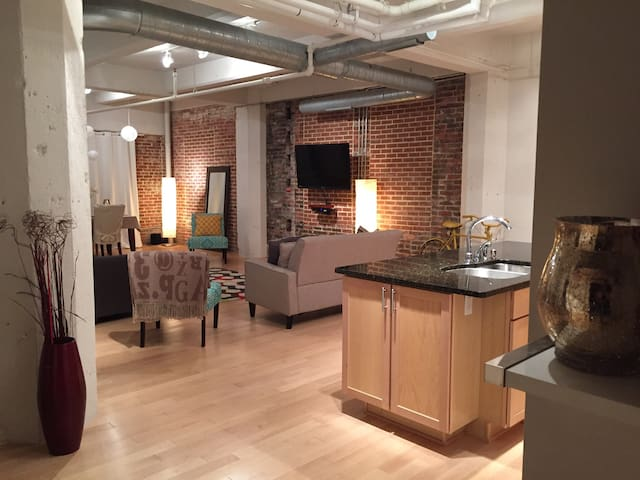 Charming 2 BD Loft - Downtown Bmore - บัลติมอร์