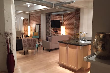 Charming 2 BD Loft - Downtown Bmore - Baltimore - Loft-asunto