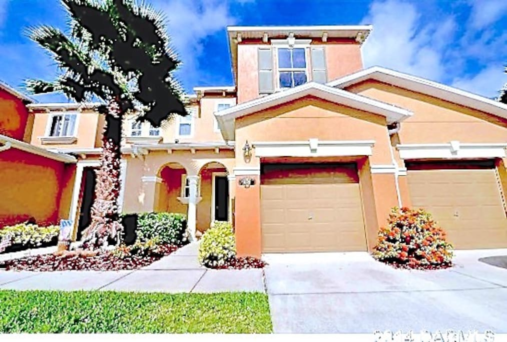 Two story townhouse in safe and beautiful community