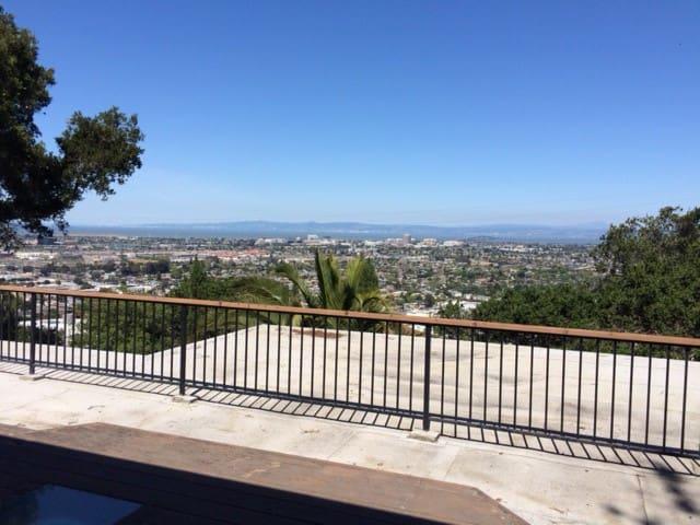 panoramic San Francisco bayview - Belmont - Casa