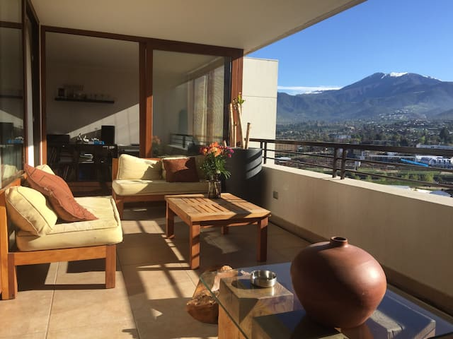 Stay in the best area of santiago - Lo Barnechea - Apartamento