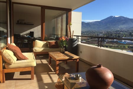 Stay in the best area of santiago - Lo Barnechea