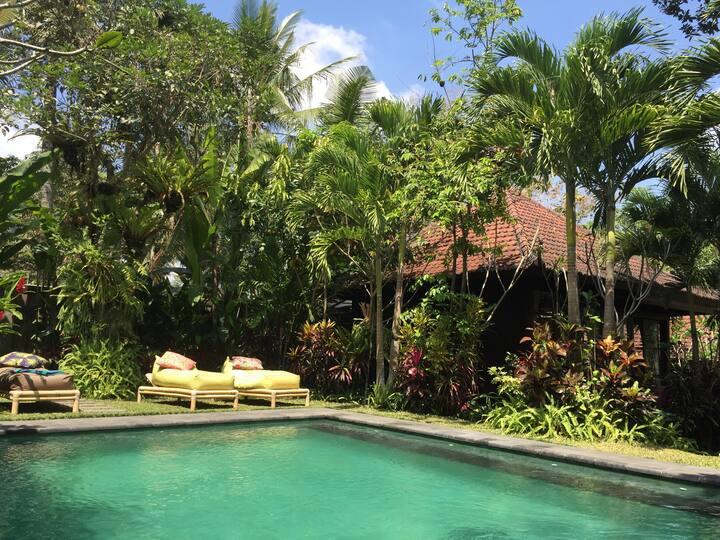 Spacious Bali bungalow