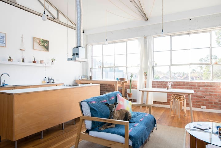 Architecturally Designed Warehouse - Northcote - Huis