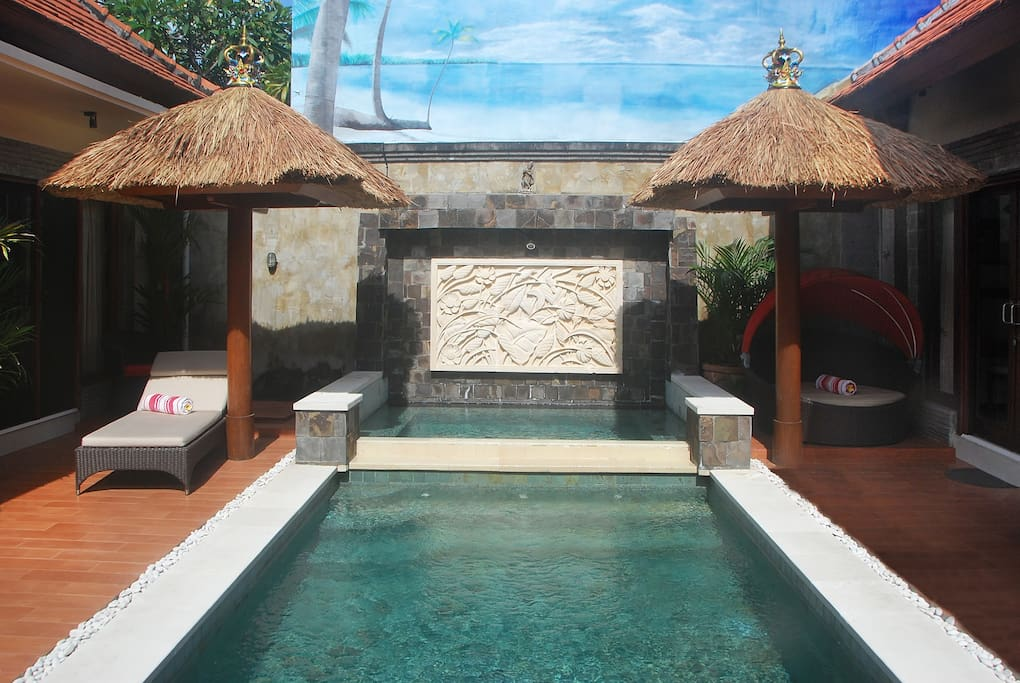 9 mtr private pool