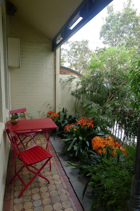 Classic Australian style front verandah
