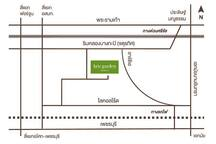 Map to our place, The Kris Garden Condo. It's easier to take local road in parallel to Petchburi Road, and turn into Soi Wat Utai (Utai Temple Lane) from local road to arrive at our premise.