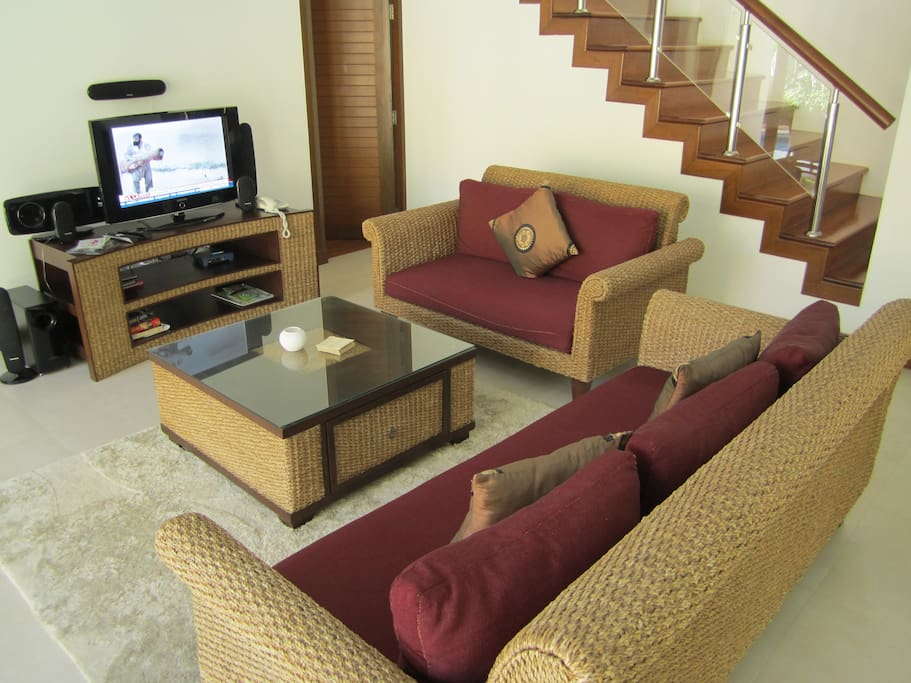 Downstairs living