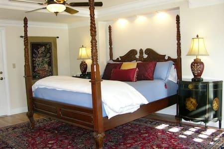KING bdrm w private bath MERLOT - Sonora - Bed & Breakfast