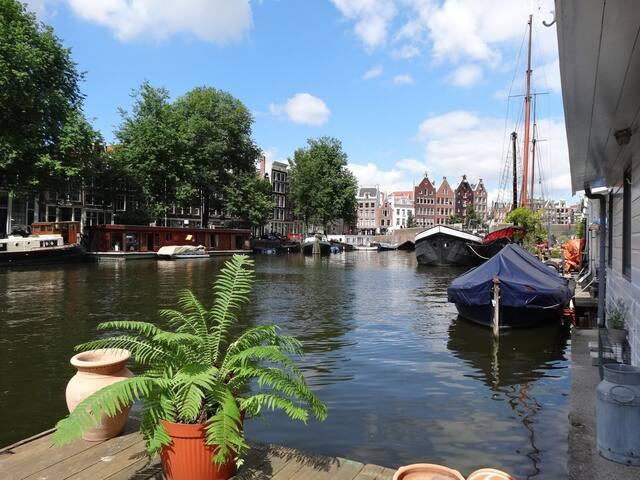 Lovely Houseboat in Historic Centre!