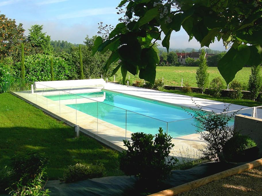 12 metre pool (heated when necessary)