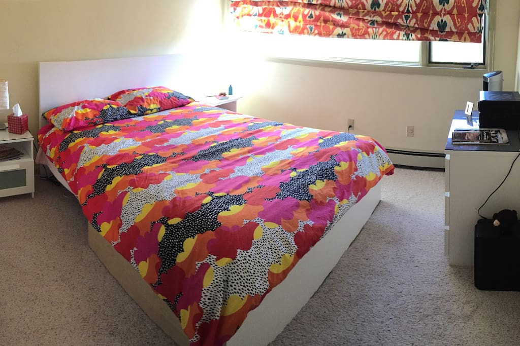 Queen size brand new bed