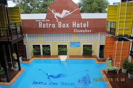 Retro Box Hotel/Retro-Standard Room - Tambon Tha Taphao