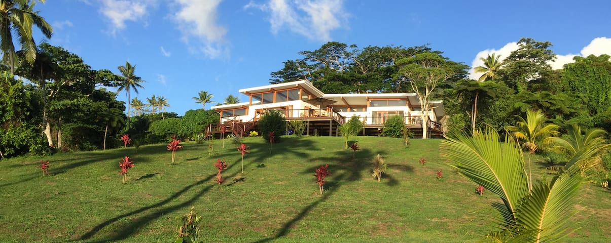Room at Green Fiji Plantation - Taveuni - Bed & Breakfast