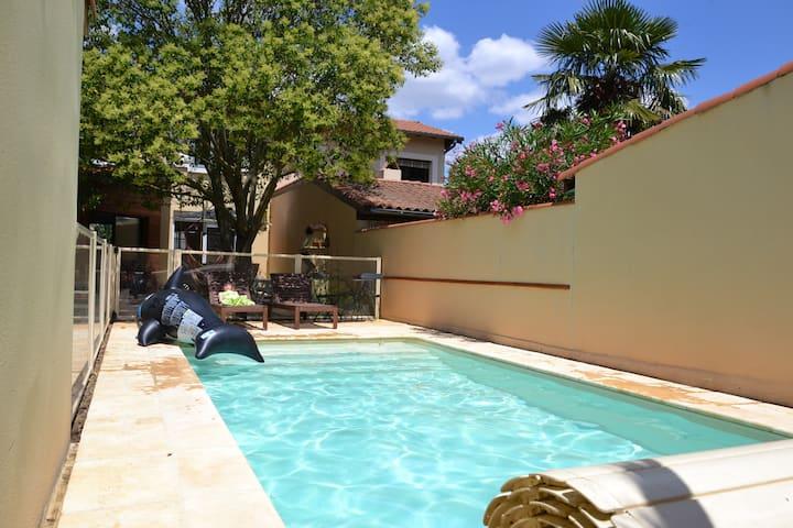 Maison individuelle avec piscine dans Toulouse
