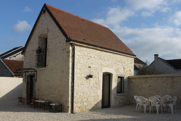 Charmante maison en pierre 1768 - Polisy - Haus