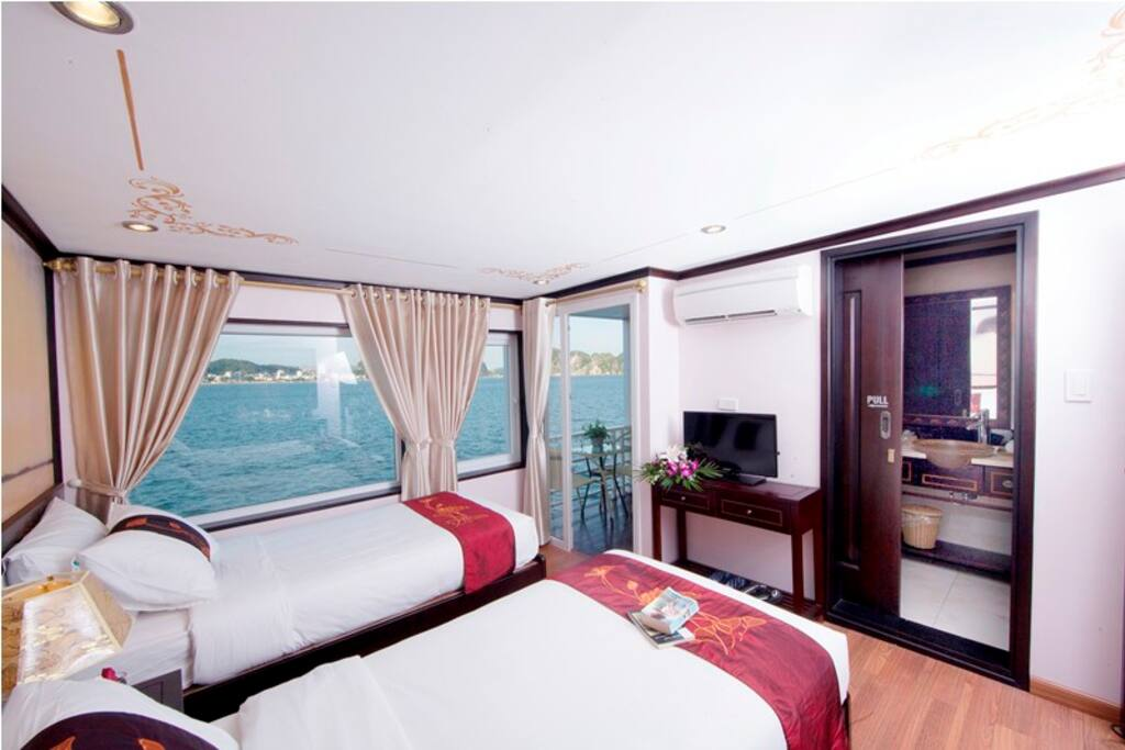 Twin room in Sealife crusie