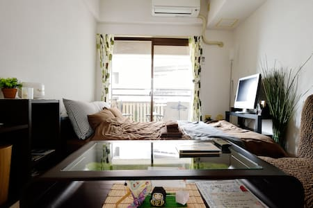 A★Central Osaka ★Tennoji 3min walk★ - Ōsaka-shi - Apartament