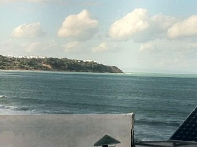 bungalow  vue sur mer et  mezzanine