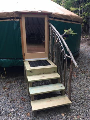 Welcome to our yurt