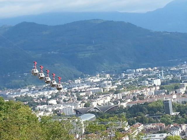 Accès direct centre ville de Grenoble et montagnes