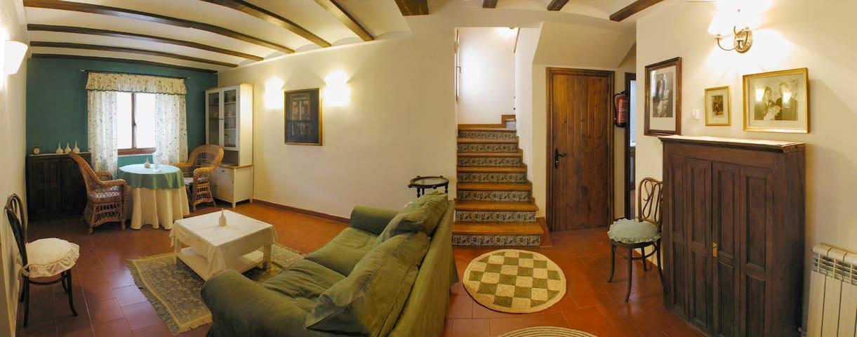Acogedora casita rústica en  Rioja - Cabretón - Huis