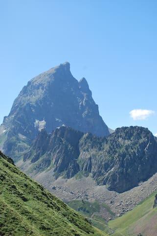 location de chambres dans un gite de montagne - Laruns