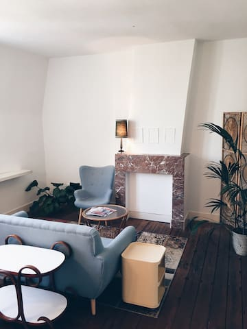 *Cosy vintage flat*center antwerp* - Antwerpen - Appartement