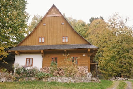 Traditional Renovated Log Cabin - Staré Město - Дом