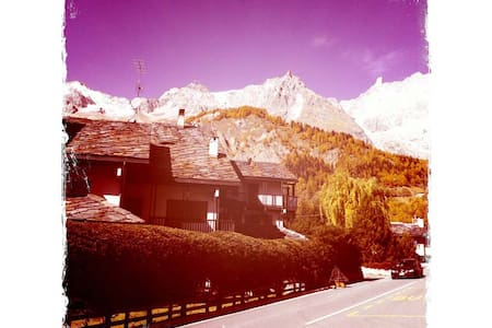 Mountain house in good position. - Courmayeur - Apartemen
