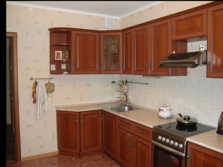 "Wonderful flat near m.""Pechatniki"""