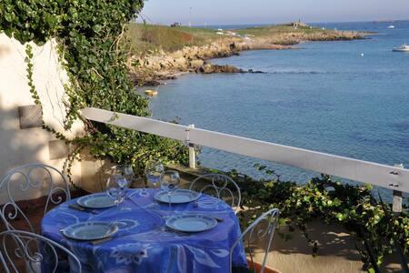 Gîte à Landunvez en front de mer - 17 personnes - Landunvez - Rumah