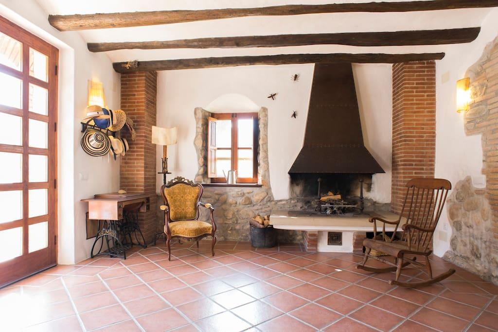 big eco countryhouse near barcelona maisons louer. Black Bedroom Furniture Sets. Home Design Ideas