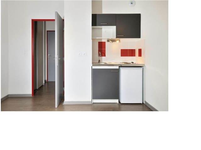 Studio calme dans résid. neuve N°1 - Limonest - Flat