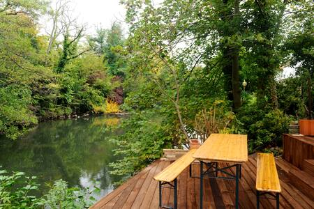 Maison en bord de canal à Strasbg ! - Strasbourg - Dom