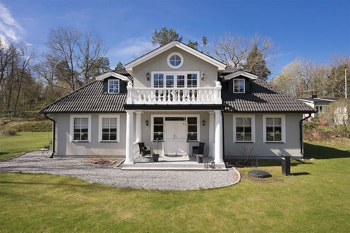 Beautiful American-inspired house! - Huddinge - Hus
