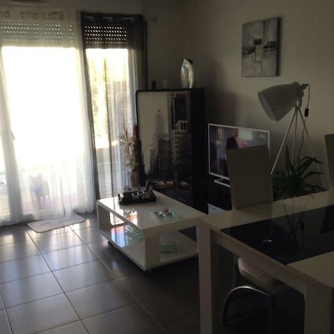 Joli T2 au calme près de Bordeaux - Artigues-près-Bordeaux - Apartment