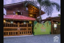 Physis Caribbean B&B from the street