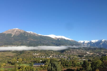 Fabulous apartment with great views near Embrun. - Baratier - Wohnung