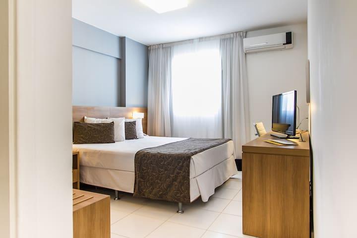 Suite 2 people, beach, events, fun - Rio de Janeiro - Apartment