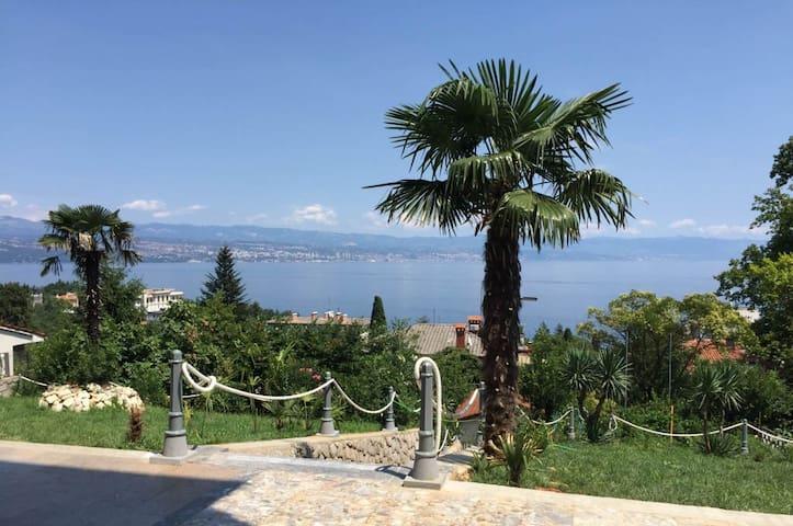Villa Allegra Apartment 101 with amazing sea view - Lovran - Villa
