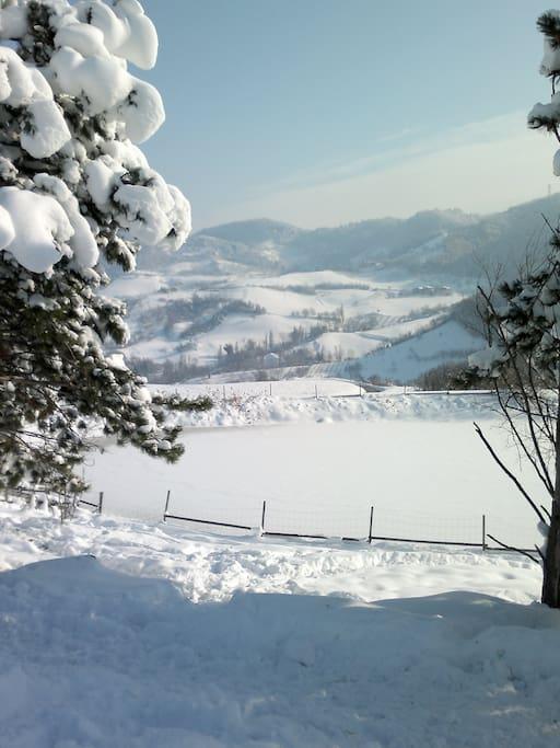 Ogni stagione ci regala paesaggi meravigliosi!!
