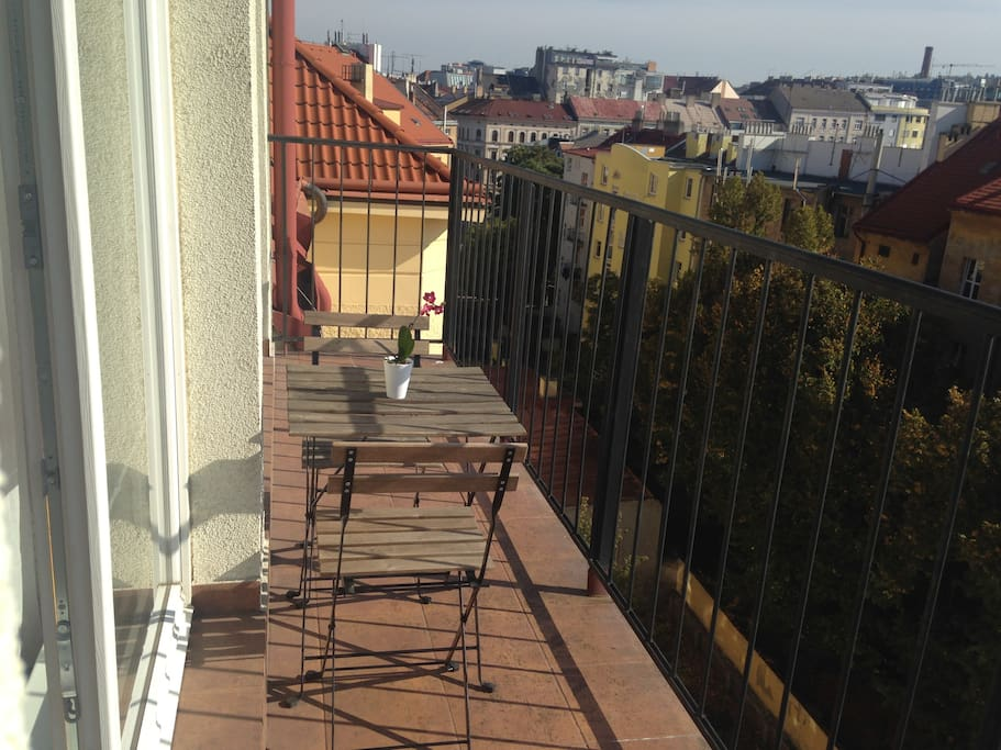 Balcony. Perfect to enjoy breakfast or evening drink.
