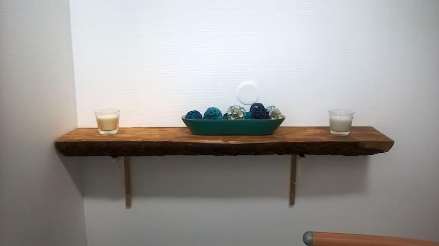 Chambre Bleue avec jacuzzi privatif - Bainville-aux-Miroirs - Bed & Breakfast