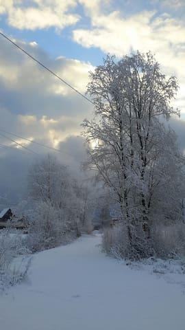 Дом с финской купелью в Агалатово - Агалатово - Casa