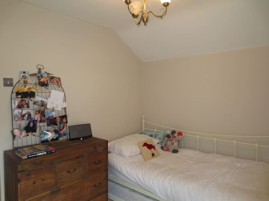 3rd Bedroom (optional pull out mattress)