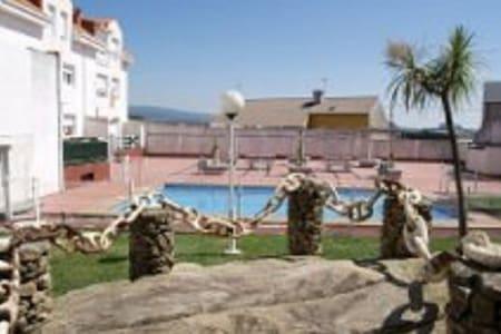 duplex con piscina, jardin cambados - Cambados - 公寓